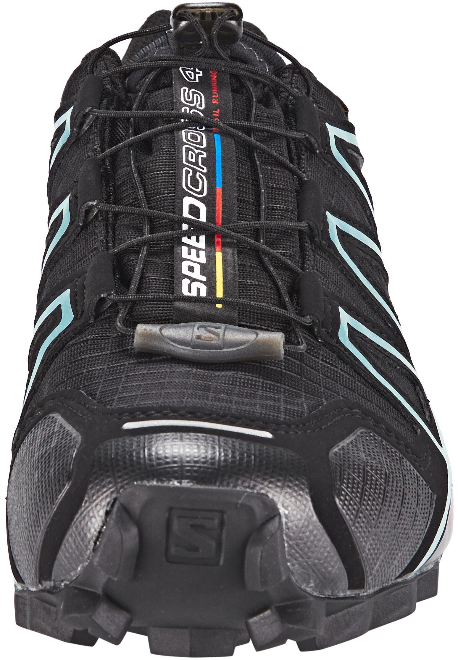 7db8a789d83 Salomon Speedcross 4 GTX - Chaussures running Femme - bleu noir ...